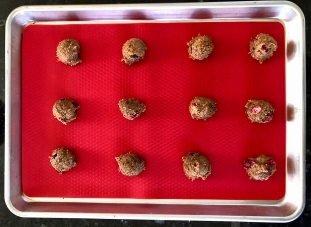 This healthy cranberry orange carrot cookies recipe features fresh cranberries, whole grain flour, carrots, and a delicious glaze on top.